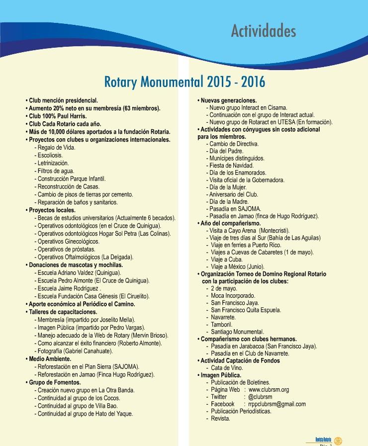 programas de actividades 2015-2016